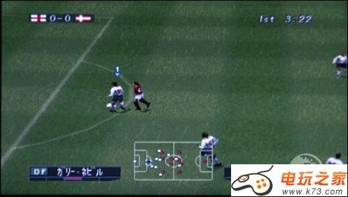 实况足球2006_游戏截图 游戏介绍:        《实况足球2002》又名《实况足球2006》