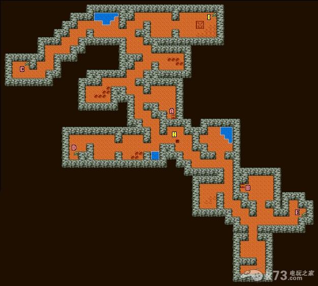 勇者斗恶龙1+2世界地图及全部城镇迷宫地图