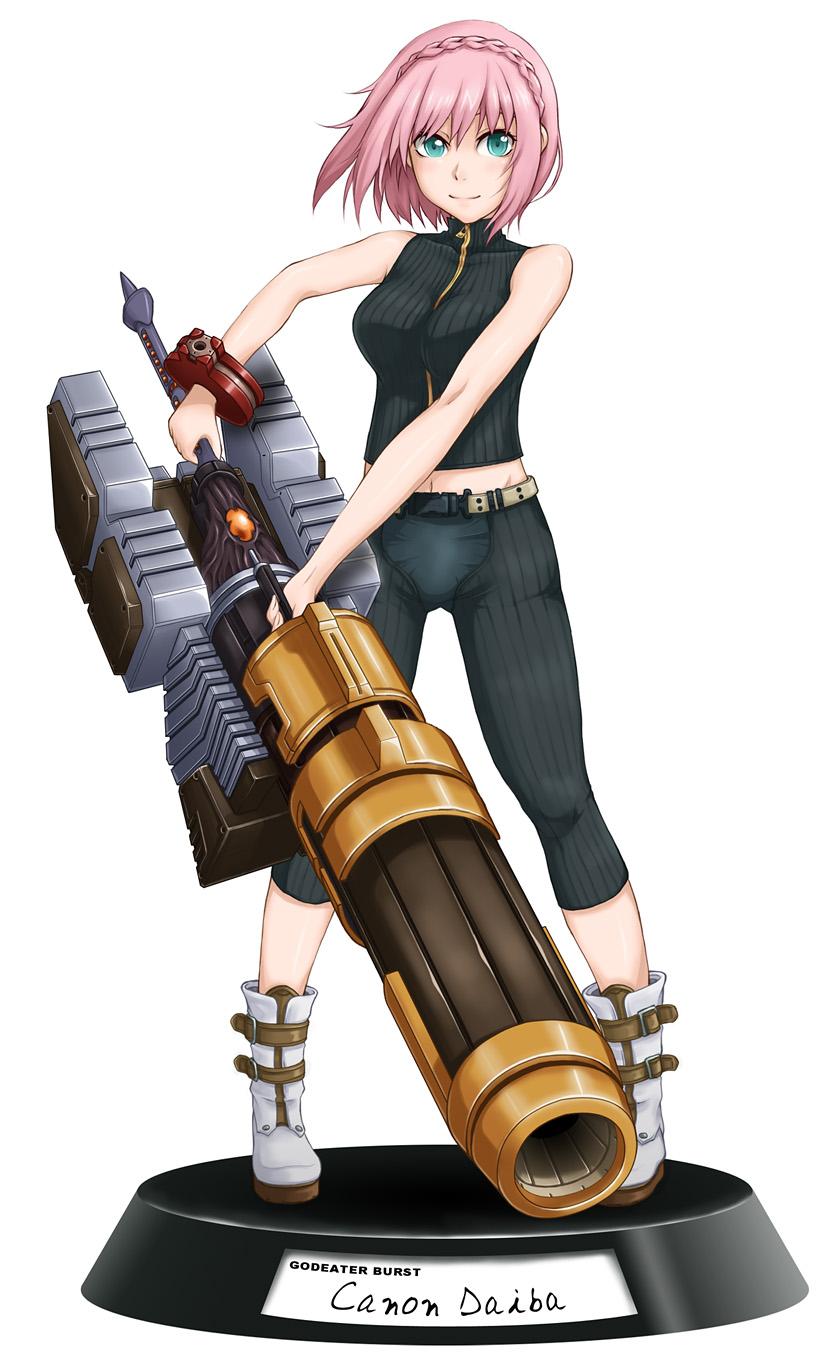 噬神者爆裂之美女与凶器高清大图