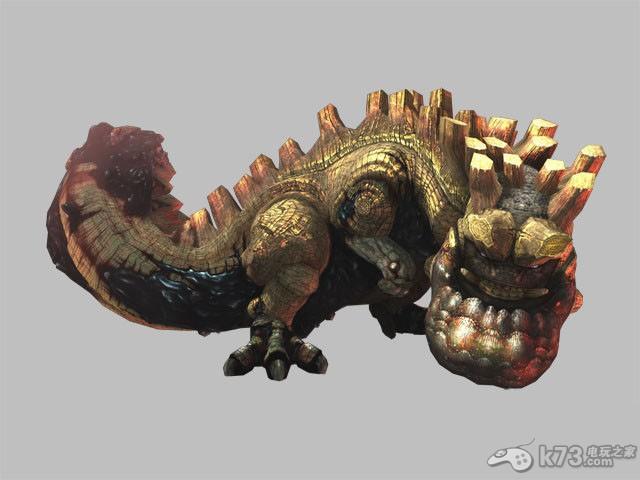 怪物猎人p3爆锤龙详细资料及打法