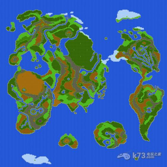 三个版本的游戏世界地图的预览及超大的4000 分辨率的1:1点阵图下载.