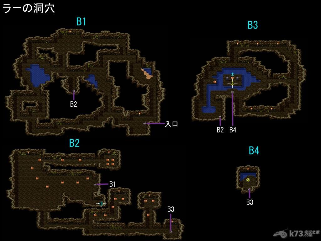勇者斗恶龙3全迷宫地图预览【含隐藏迷宫】 _k73电玩