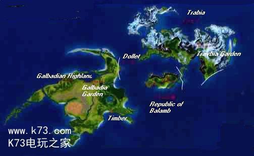 克鲁玛高塔 地图