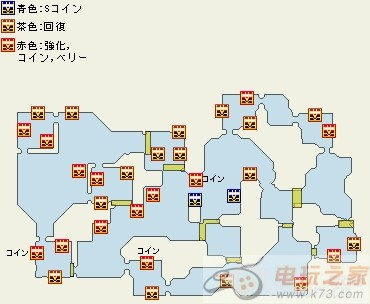 海贼无双2宝箱地图图鉴一览
