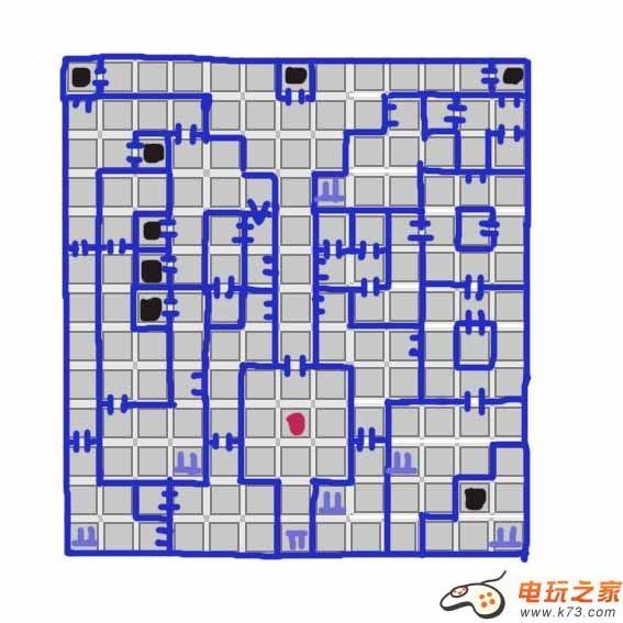 迷宫旅人2图书馆地图及推荐路线一览