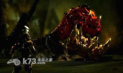 怪物猎人4 蓄力斧狩猎鬼蛙实机视频图片