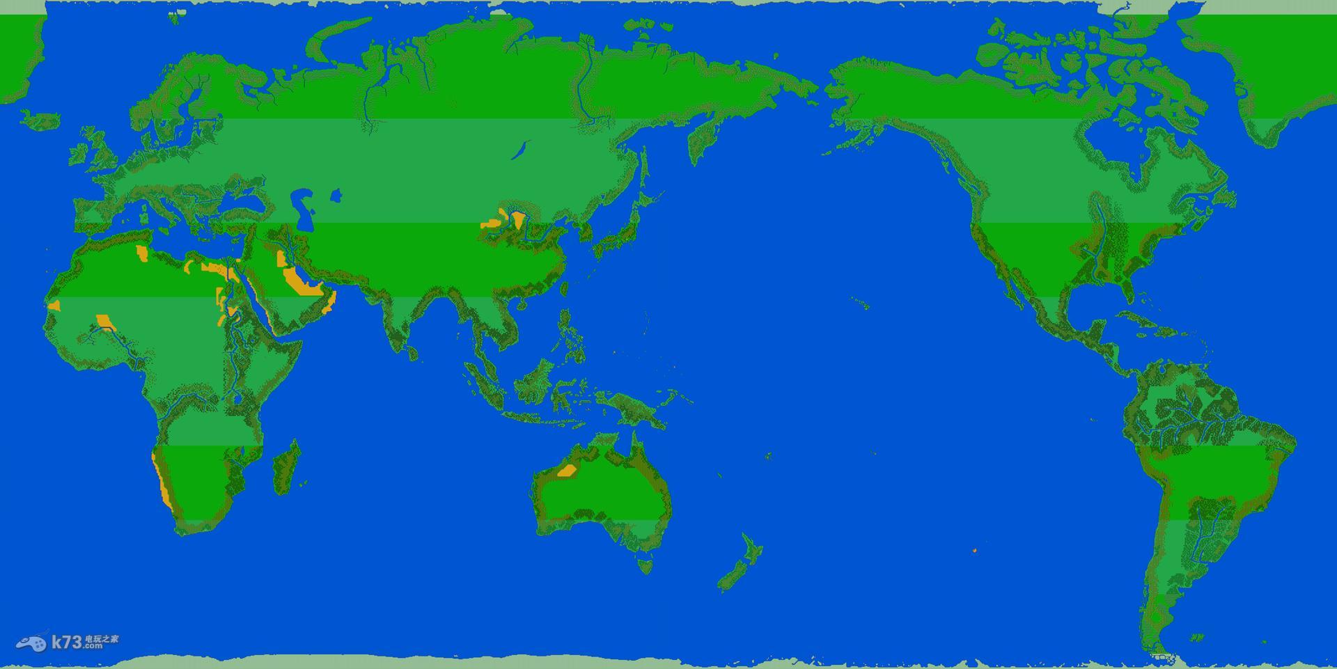 md大航海时代2全世界地图【含全港口】