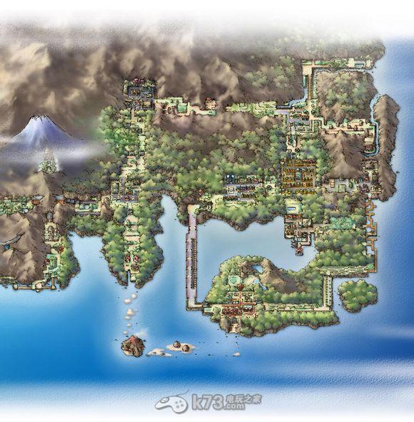 口袋妖怪世界地图 _k73电玩之家