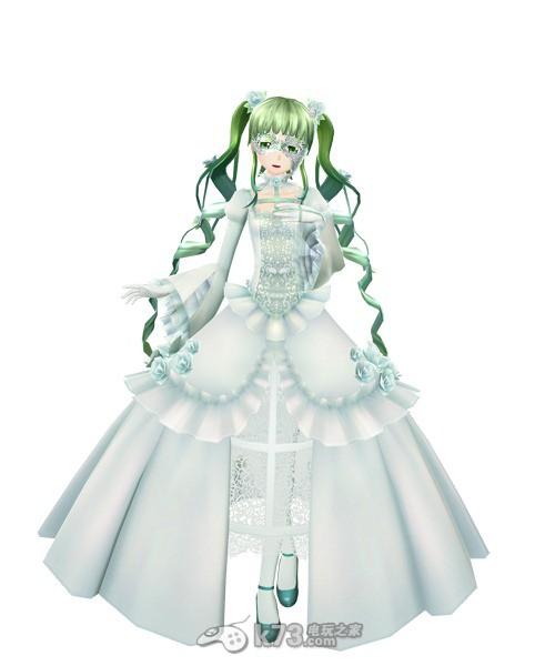 《初音未来歌姬计划f 2nd》彩虹服装公开图片