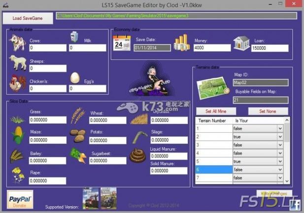 模擬農場15存檔修改器分享