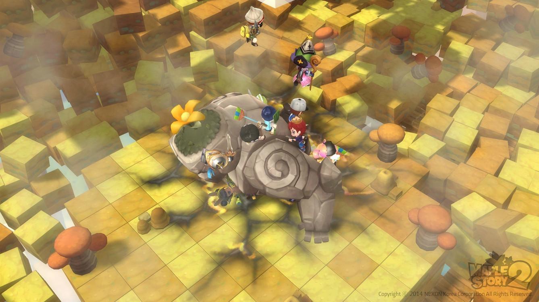 《冒险岛2》世界地图及boss怪战斗超清截图